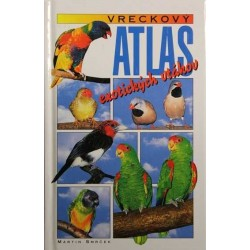 Vreckový atlas exotického vtáctva