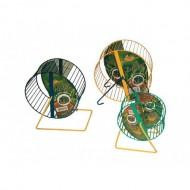 Kolotoč kovový zeleno-žltý 12cm