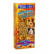 DAKO - ART Tyčinky pre hlodavce - vaječné 2ks