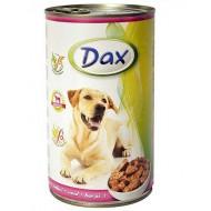 Dax konzerva pre psov teľacia 1240g