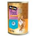 Konzerva HM hovädzie mäso v šťave pre mačky 400 g