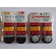 Ponožky Červeno-žlté- S, L