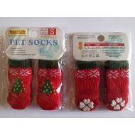 Ponožky Vianočné - S